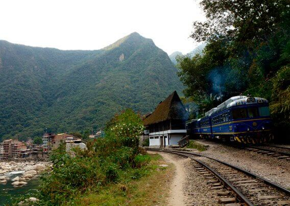 machupicchu by train
