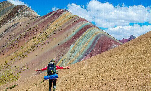 rainbow mountain - motaña de 7 colores
